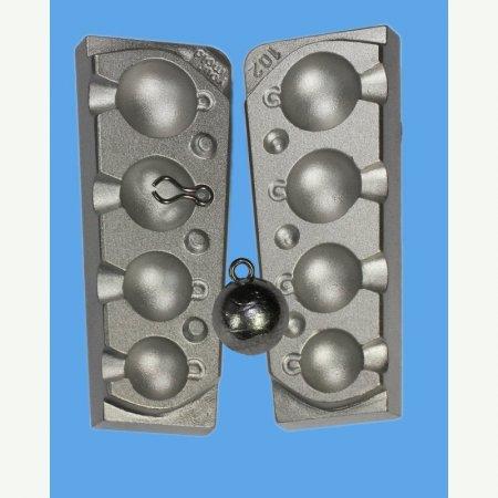 MATRITE PLUMBI FICSI model F102 marimea cavitatilor 30-40-60-75 gr agatatore agrafa model 7201