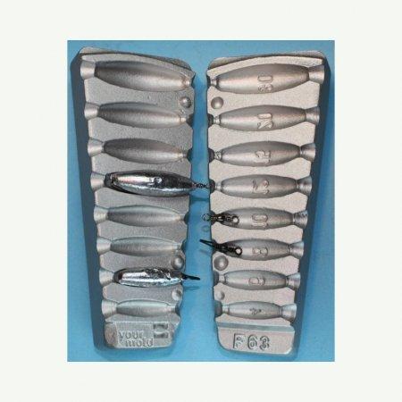 model F63 marimea cavitatilor 4-6-8-10-12-15-20-30 gr agatatore vartej marimea 12