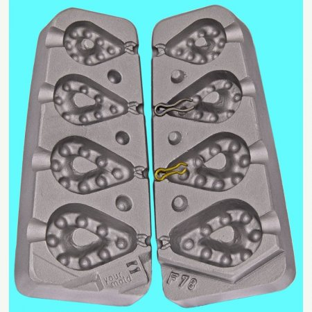 matrite plumbi gripa FICSI model F78 marimea cavitatilor 40-50-60-90 gr agatatore agrafa 7201