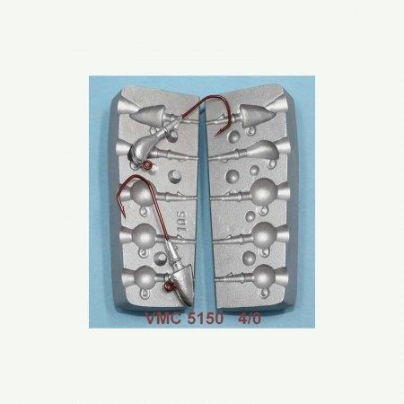 MATRITE PLUMBI JIGURI matrite plumbi model F105 cavitati de 10-12-16g ace de marimea 4/0