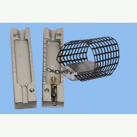 MATRITE PLUMBI FICSI feeder model F 111 marimea cavitatilor 60gr agatatore agrafa model 7201