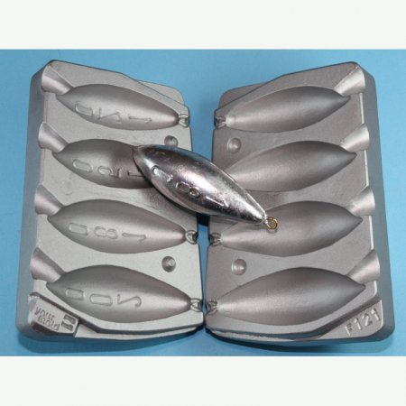 MATRITE PLUMBI FICSI model F121 marimea cavitatilor 120-150-180-200 gr agatatore agrafa 7201