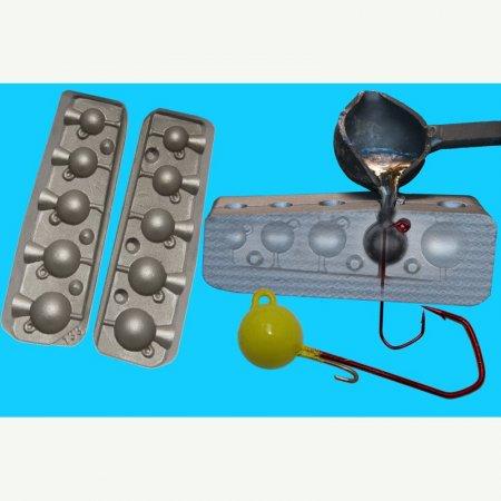 MATRITE PLUMBI JIGURI model F133 cavitati de 9-16-20-30-42g ace de marimea 2/0-3/0-4/0-5/0-6/0