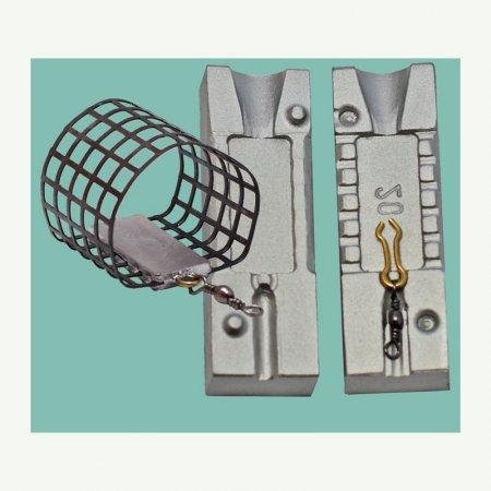 MATRITE PLUMBI FICSI feeder marimea cavitatilor 20gr agatatore agrafa model 7201