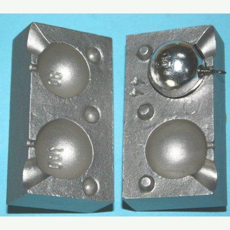 MATRITE PLUMBI FICSI model F44 marimea cavitatilor 80-100 gr agatatoare vartej marimea 8