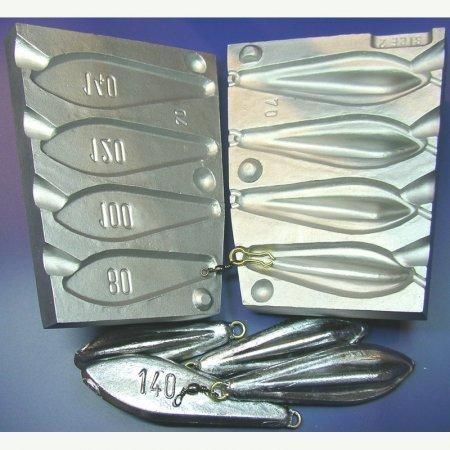 MATRITE PLUMBI FICSI model F70 marimea cavitatilor 80-100-120-140 gr agatatoare agrafe 7202