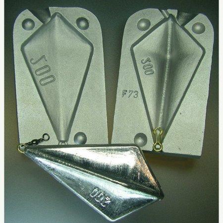 MATRITE PLUMBI FICSI model F73 marimea cavitatilor 200 gr agatatoare agrafa 7201