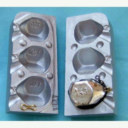 MATRITE PLUMBI FICSI model F84 marimea cavitatilor 100-120-140gr agatatore agrafa 7201