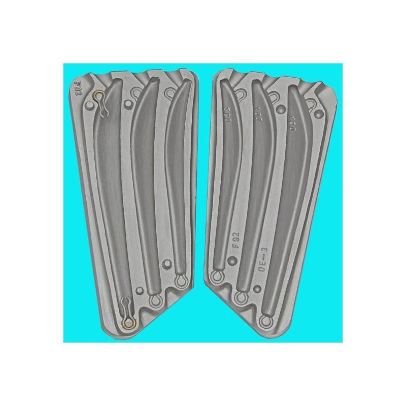 matrite plumbi pilker cod 092 Gramaj:260/400/450 gr.