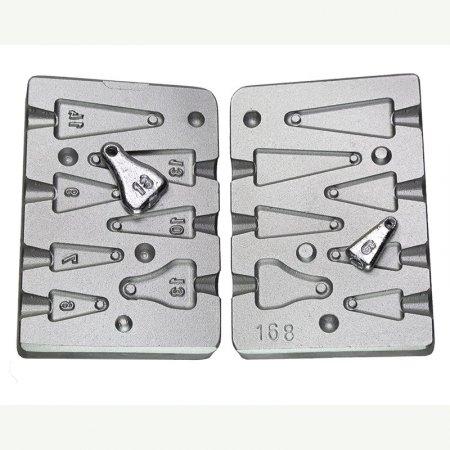 matrite plumbi ficsi model f 168 cu 7 cavitati 6-7-9-10-13-13-14 grame