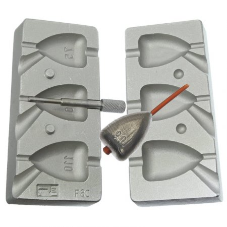 MATRITA MODEL F80-CU CAVITATI DE 75-90-110 GRAME